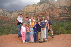 Family time in Sedona